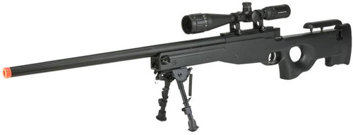 E&C Airsoft L96 Bolt Action Airsoft Sniper Rifle (Color: Black - High Power)