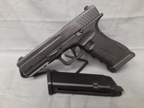 APS XTP Gas Blowback Airsoft Pistol - Black -  BONEYARD