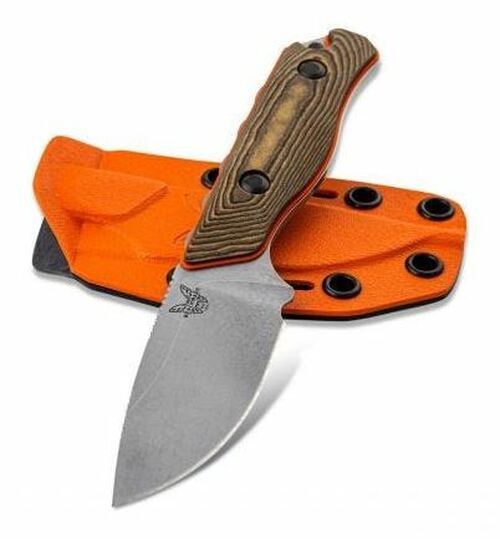 Benchmade Hidden Canyon Hunter S90V w/ Boltaron Sheath