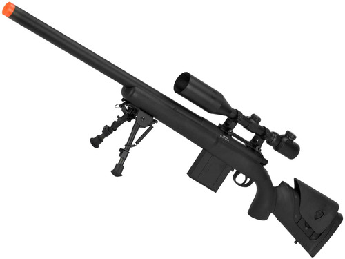 APS M40A3 Bolt Action Airsoft Sniper Rifle (Rifle + 3-9X40 Scope)