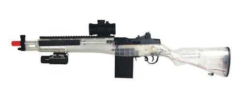 M14 Socom Automatic Electric Airsoft Rifle Combo - BONEYARD