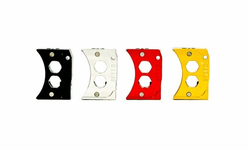 Speed Airsoft Hi-Capa Hex Holes Trigger Curve - Gold