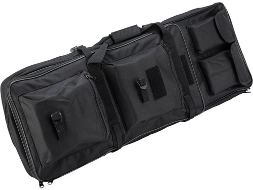 """Matrix Tactical Single Padded Rifle Bag with Extension (Color: Black / 33.5"""")"""