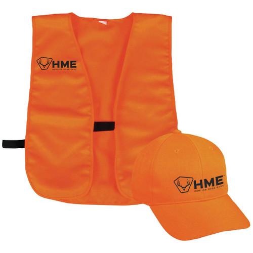 Safety Vest Orange W/ Hat