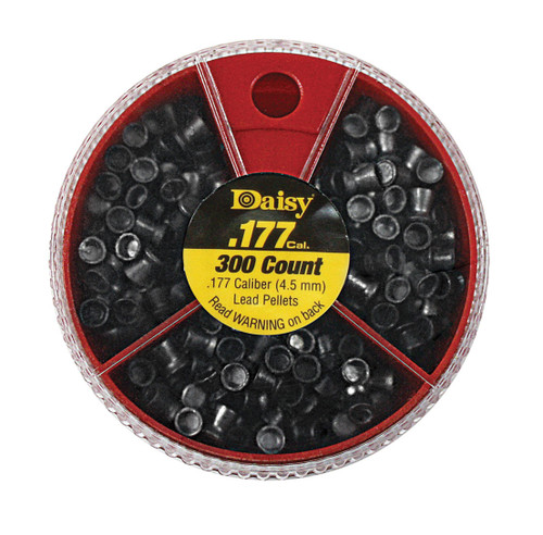 .177 Cal Dial-A-Pellet 100 Each Pointed, Flat & Hallow Point