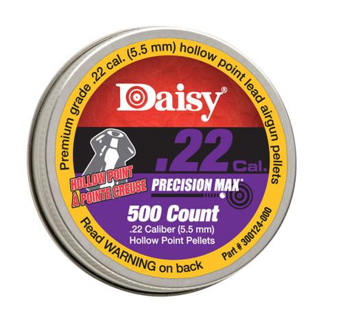 .22 Cal Hallow Point Pellets 500/Tin
