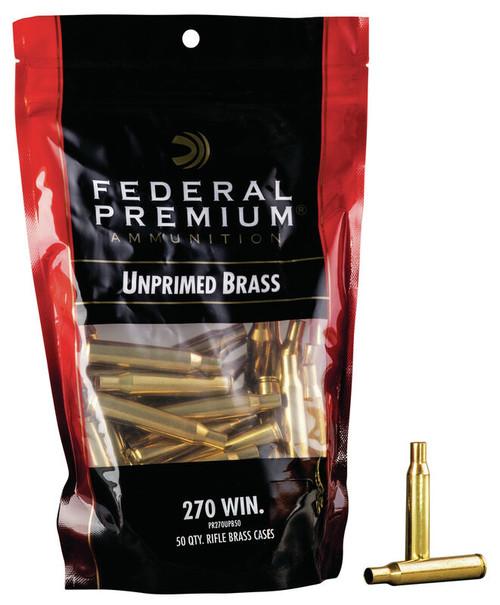 270 Win Unprimed Brass 50/Bag