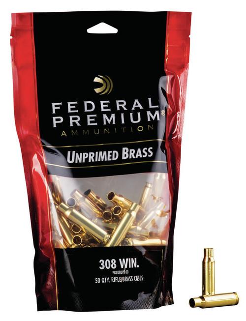 308 Win Unprimed Brass 50/Bag