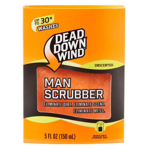 Man Scrubber Preloaded Soap Scrubber