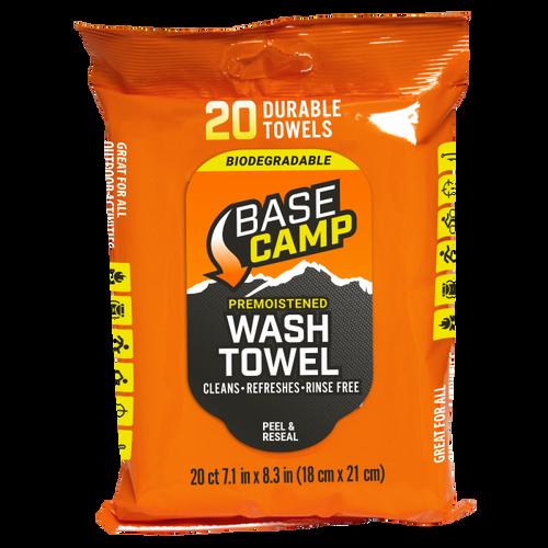 "Camp Wash Towels 7""X8"" Biodegradable"