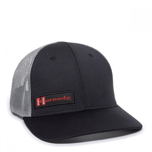 Hornady Black & Grey Mesh Back Cap