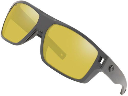 Costa Del Mar - Diego Polarized Sunglasses (Color: Matte Gray / 580p Silver Sunrise Lens)