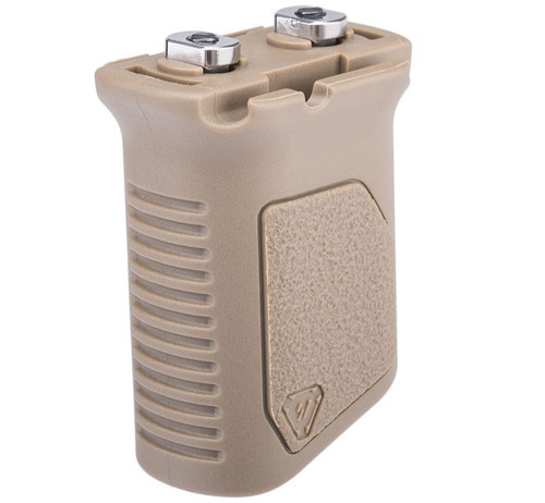 Strike Industries Angled Vertical Grip with Cable Management (Color: Flat Dark Earth)