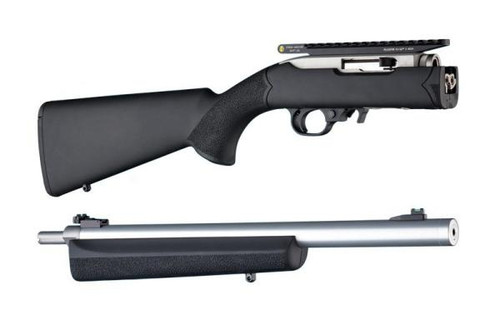 Ruger 10/22 Takedown Blk Overmold Stock .920 Channel