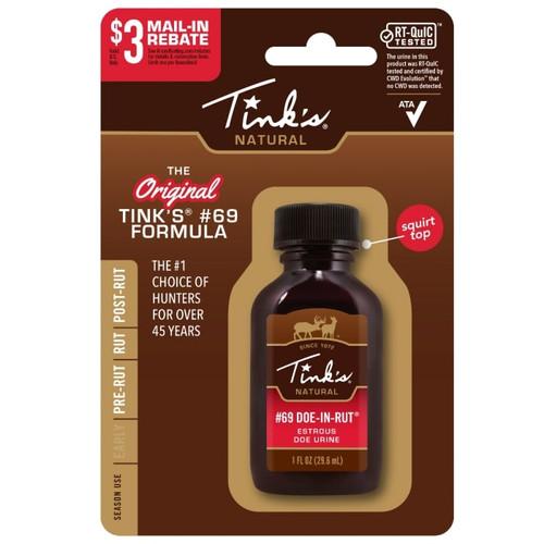 Tink's #69 Doe-in-rut Buck Lure 1 Oz.