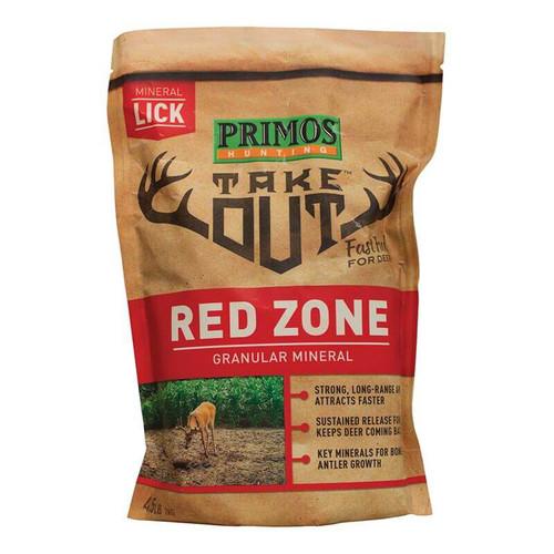 Take Out Mineral Granular Redzone 4.5Lb Bag