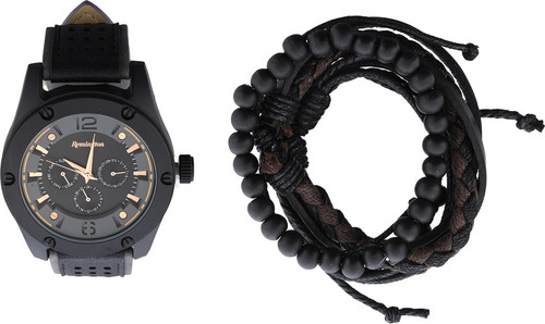 Watch Gift Set Black