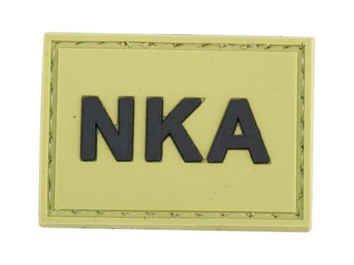 "Matrix ""NKA"" PVC Morale Patch (Color: OD Green)"