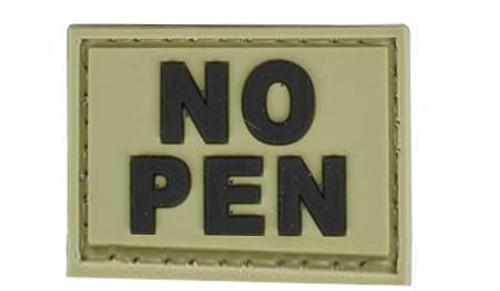"""Matrix """"No Penicillin"""" PVC Hook and Loop Patch"""