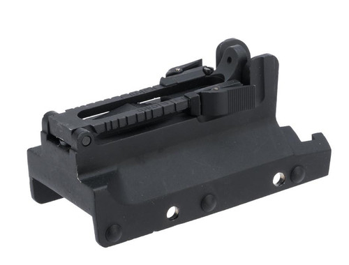 Echo1 M240-SLR OEM Replacement Metal Rear Sight Assembly