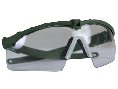 Bravo Airsoft Tactical Eye Pro with Clear Lens - OD Frame