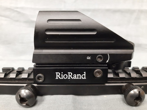 RioRand Red / Green Dot Sight Tactical Reflex 4 Different Reticles - USED