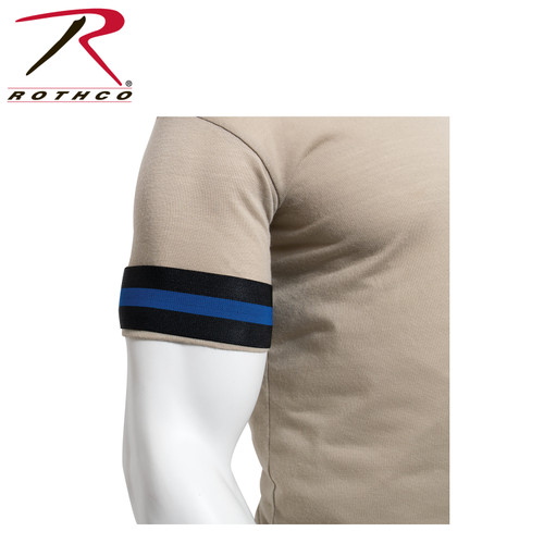 Rothco Thin Blue Line Mourning Arm Band