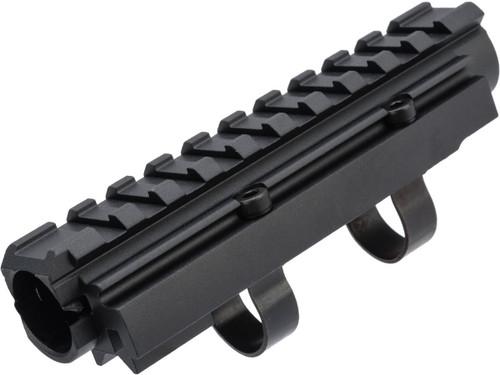 LCT CNC Aluminum Railed Gas Tube for AK Series AEG Rifles