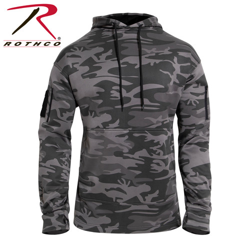 Rothco Concealed Carry Hoodie - Black Camo