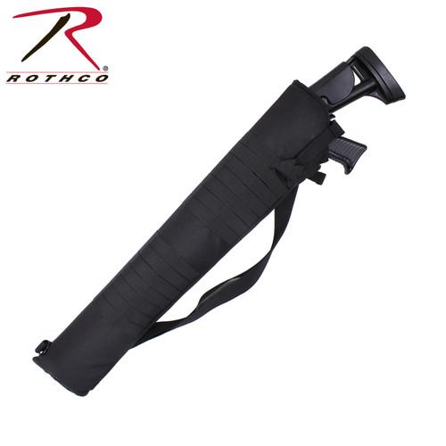 Rothco Tactical MOLLE Shotgun Scabbard - Black