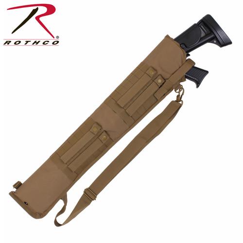 Rothco Tactical MOLLE Shotgun Scabbard - Coyote Brown