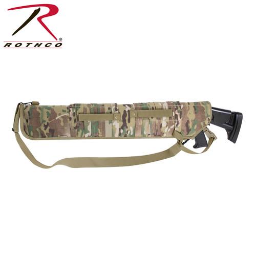 Rothco Tactical MOLLE Shotgun Scabbard - Multicam