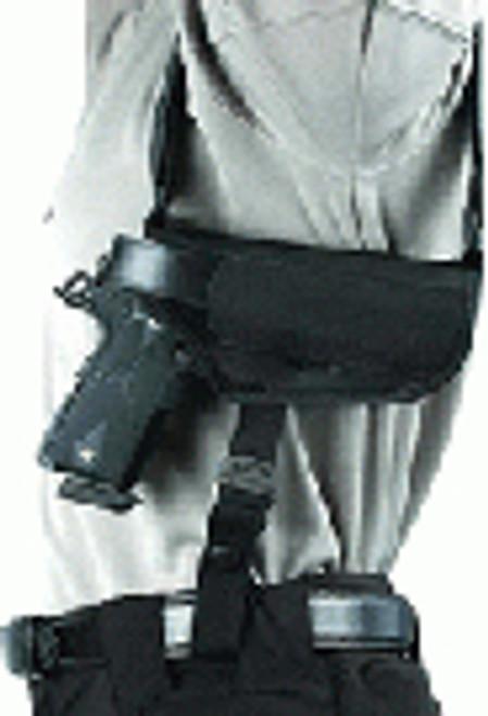 """Vertical Shoulder Holster #15 Rh 3.75-4.5"""" Large Auto"""