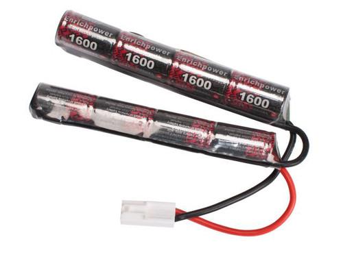 G&G 9.6v 1600mAh NiMH Butterfly Battery