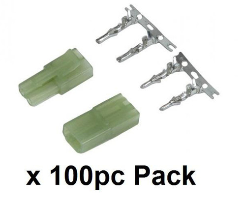Echo1 Battery Plug Set - Small (male and female) - 100pc PACK