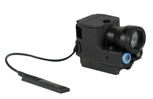 Bravo Airsoft ELM01 Flashlight and Laser Aiming Module - Black