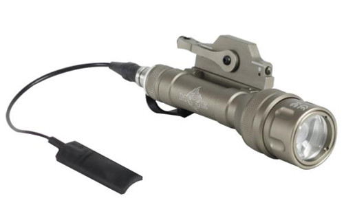 Bravo Airsoft Scout V Tactical Flashlight with Pressure Pad and Mount -  Dark Earth