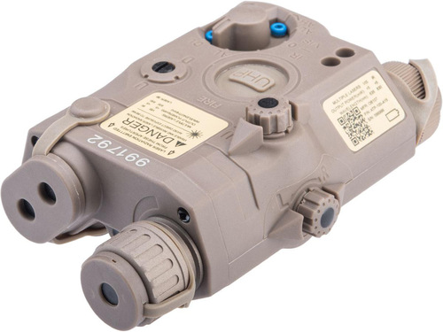 Element PEQ-15 LA-5C UHP Laser and Flashlight Device (Color: Dark Earth / Red Laser)