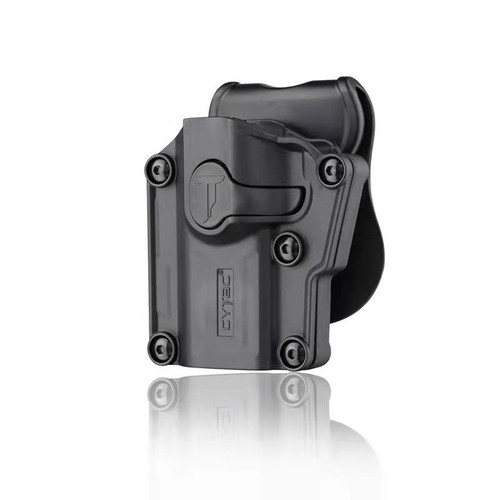 Universal Holster with paddle (Adjust to fit most popular pistols) | LEFT HAND