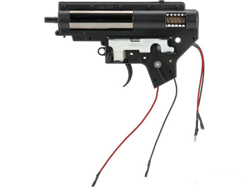 Echo1 Complete 8mm Metal Gearbox for M4 / M16 Series Airsoft AEG Rifles (Wiring: Rear)