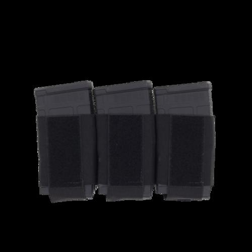 Ferro Concepts Turnover Triple 762 Magazine Pouch (Color: Black)