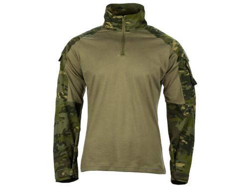 EmersonGear Blue Label 1/4 Zip Tactical Combat Shirt (Color: Multicam Tropic / Large)