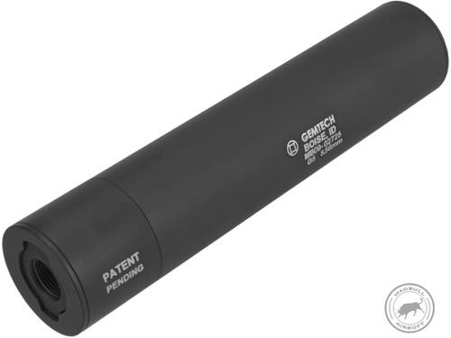 Madbull Gemtech G5 QD Mock Suppressor Barrel Extension with Flashhider (Color: Black)