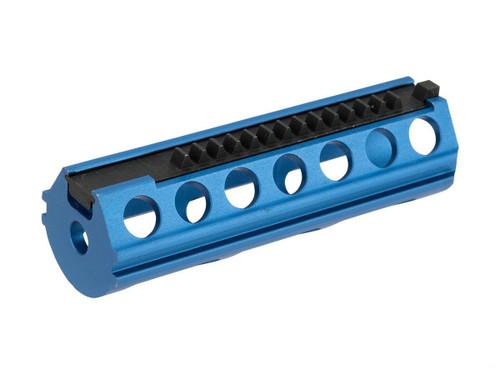 SHS CNC Machined Lightened Aluminum AEG Piston with Stainless Piston Teeth (Half Teeth)