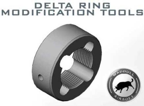 MadBull Upper Receiver Delta Ring Threads Modification Tool - Steel