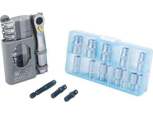 Matrix Pocket Tool Kit (Model: Screwdriver Bits w/ Sockets)