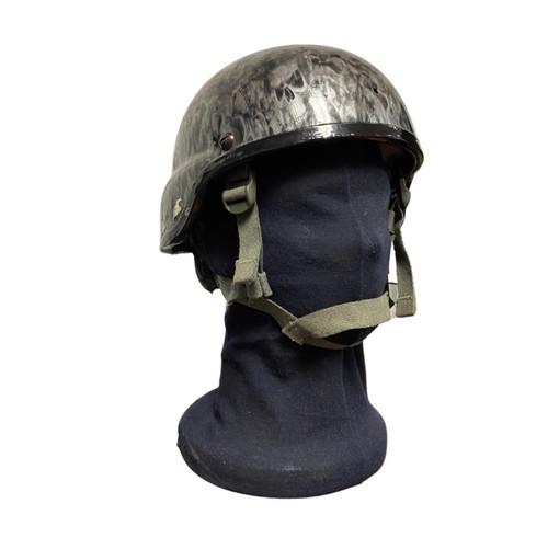 Custom U.S. Armed Forces Mich Helmet - Grey Skulls