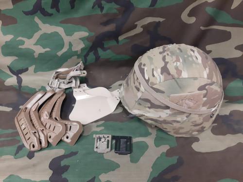 Multicam Helmet Bundle - USED