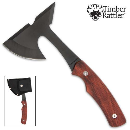 Timber Rattler Mini Throwing Axe And Sheath