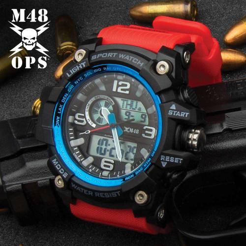 M48 Red Rescue Watch - Digital